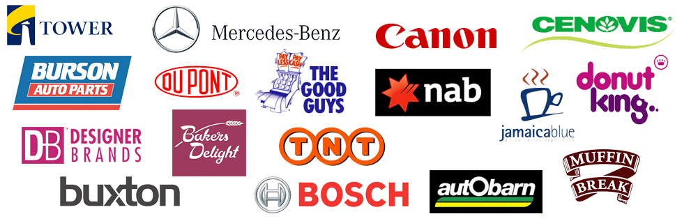 Colin bockman logos of trusted brands he has worked with